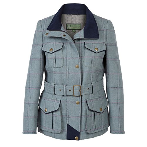 HIDEPARK Welby 125: Women's Blue Tweed Coat