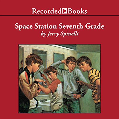Space Station Seventh Grade                   By:                                                                                                                                 Jerry Spinelli                               Narrated by:                                                                                                                                 Johnny Heller                      Length: 6 hrs and 59 mins     5 ratings     Overall 4.2