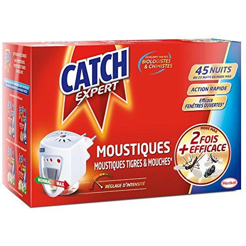 CATCH Diffuseur Électrique Anti Mouches/Moustiques avec Rech