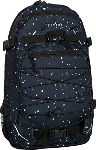 FORVERT Backpack New Louis, Navy dots, One Size