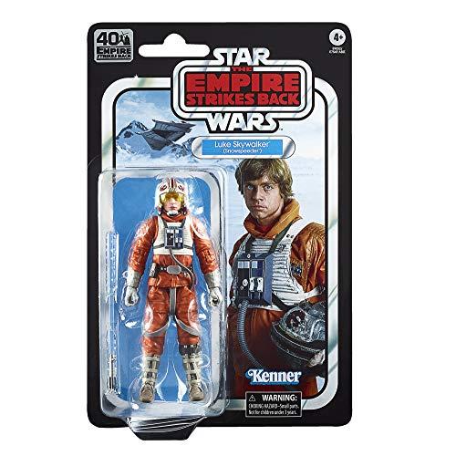 Star Wars Hasbro The Black Series - Luke Skywalker (Snowspeeder) (Action Figure da Collezione da 15 cm Ispirata al Film L'Impero Colpisce Ancora - Edizione 40° Anniversario)
