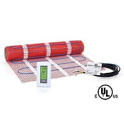 HeatTech 120V Electric Tile Radiant Floor Heating Mat Kit