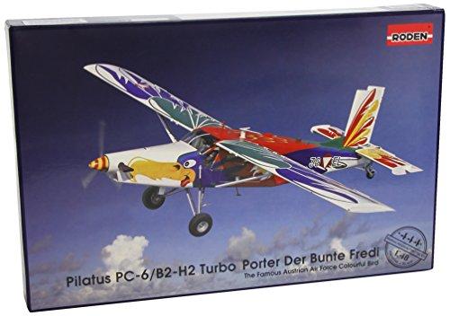 Modellino Aereo Pilatus PC-6 / B1-H2 Turbo Porter Scala 1:48