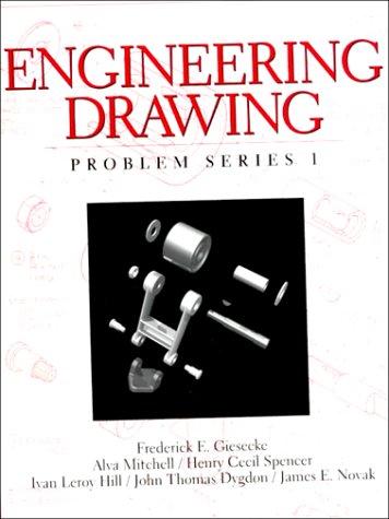 Engineering Drawing, Problem Series 1
