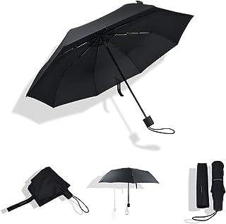 Lightweight Portable Umbrella Windproof Travel Compact Umbrella With Waterproof Coating Manual Open Umbrella