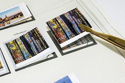 Lindner Briefmarken-Pinzette, vernickelt