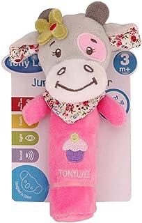 Kidoll Toddler Animal Rattle Crib Hanging Baby Stroller Hanging Toys Teethers Stuffed Doll
