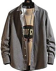 シャツ メンズ 長袖 カジュアル ビジネス オシャレ 大きいサイズ