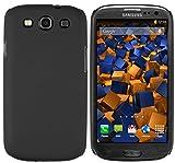 mumbi Coque Rigide Samsung Galaxy S3 i9300 ? Housse Etui Protecteur poche (arrière rigide caoutchout