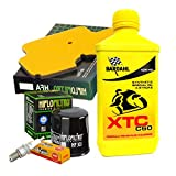 Kit révision Bardahl XTC 10W40 filtre huile air bougies Kle Versys City 650 11