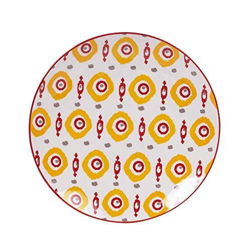 - assiette à dessert apache 20 cm (lot de 6)