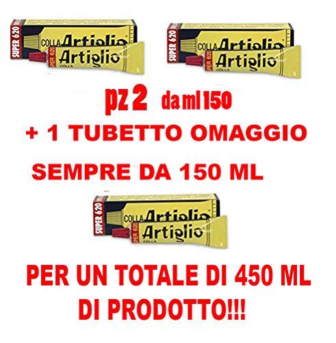 Wilbra Artiglio Super 620 Lot de 2tubes de colle de 150ml