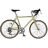 SPEAR (スペア) ロードバイク 24インチ シマノ 7段変速 SPR-247 ディレーラー Tourney(ターニー) 適用身長155cm以上 男性 女性 1年保証 (アイボリー)