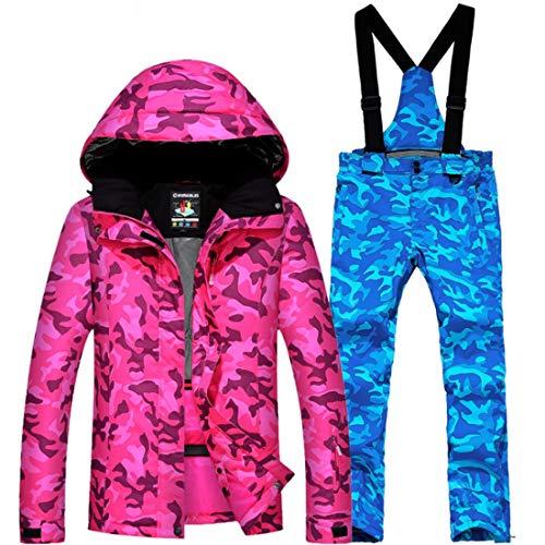 DRT Dames & Heren Mountain Waterdichte Camouflage Patroon Ski Jas Grote Maat Unisex Jas Grootte(L/M/XL/XXL/XXXL)