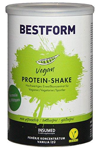 INSUMED Bestform Eiweißdrink Vegan; 400g, NEUES Design, bewährte Qualität!