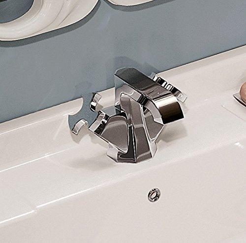 Flaminia Rubinetteria Evergreen miscelatore monoforo lavabo EG200