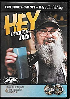 Hey Listen Here Jack! Uncle Si Duck Dynasty 2 DVD Set