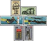 Prophila Collection DDR 2957-2958,2961-2962, 2963-2964 (kompl.Ausg.) 1985 Technik, Tauchen, Herbstmesse (Briefmarken für Sammler) Musik / Tanz