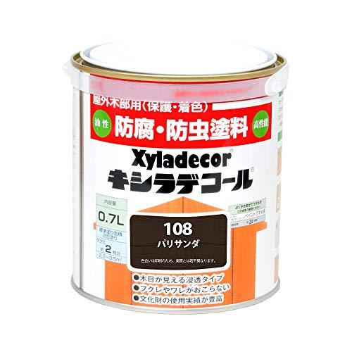 大阪ガスケミカル株式会社 キシラデコール パリサンダ 0.7L