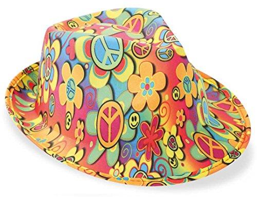 KarnevalsTeufel Trilby Hippie Hut, Karneval, Partyhut, Mottoparty, Schlagerparty