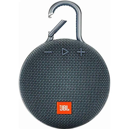JBL Clip 3 Waterproof Portable Bluetooth Speaker - Blue - JBLCLIP3BLUAM (Renewed)