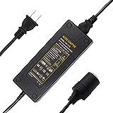 AC to DC Converter Quentacy 220V 110V to 12V 10A 120W Cigarette Lighter Outlet Socket Wall Plug Power Charger