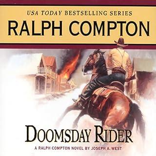 Doomsday Rider audiobook cover art