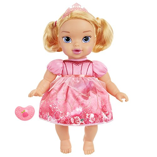Disney Princess Deluxe Baby Aurora Doll with Pacifier Baby Doll Toy