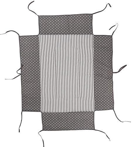 Geuther Nestchen 2232LB+ - Laufgitterbettchen für Belami, Euro-Parc und Lucilee, Dekor: Kleine Punkte, Größe: 76 cm x 97 cm