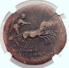 140 IT ANTONINUS PIUS 140AD Rome Sestertius Authentic An Sestertius F NGC