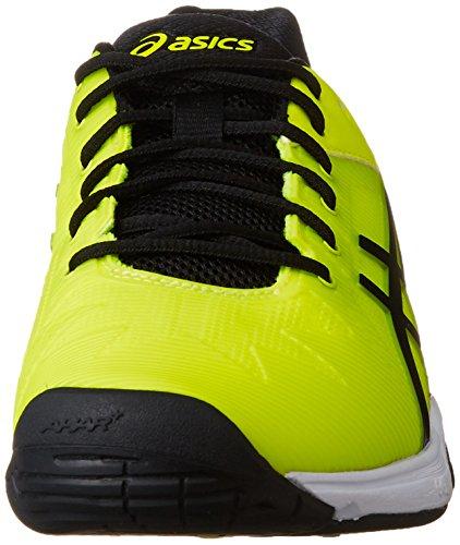 『[アシックス] テニスシューズ GEL-SOLUTION SPEED 3 OC (旧モデル) メンズ フラッシュイエロー/ブラック 26.5』の1枚目の画像