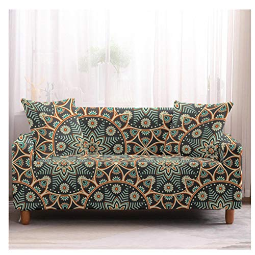 empty Elastische Sofabezug, Wohnzimmer-Sesselbezug, Sofabezug All-Inclusive, Sonnenblumen 145x185cm