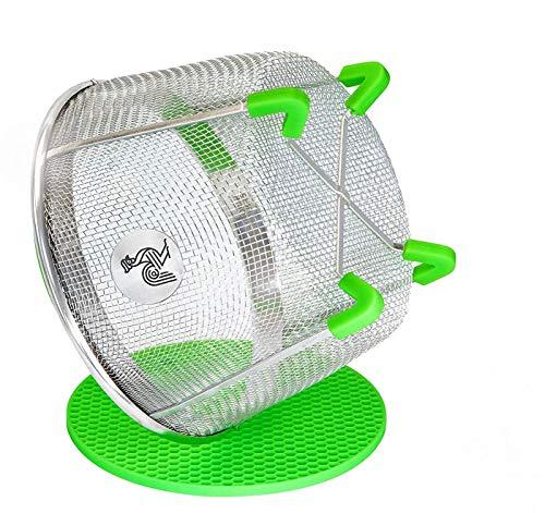 Instant Pot Accessories Insert 6 Quart vegetable Steamer Basket (3qt 8qt), Fits InstaPot Pressure Cooker, Insta Pot Ultra Duo Egg Basket, Stainless Metal Strainer Rack, Mesh, Veggie Accessory