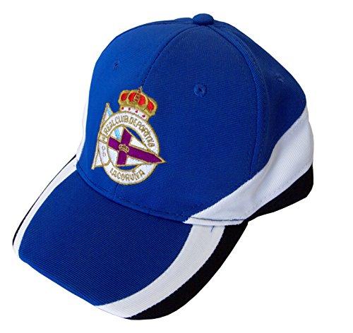 Real Club Deportivo de La Coruña Gordep Gorra, Azul (Azul 02/Blanco), Talla Única