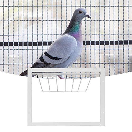 xianshiCarnaval de San Valentín Hierro Buena Estabilidad Fácil instalación Durabilidad Puerta de la casa de los pájaros, Alta Resistencia Simplemente instale jaulas para pájaros Trampa en