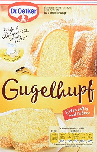 Dr. Oetker Gugelhupf Kuchenmischung, 8er Pack (8 x 460 g Packung)