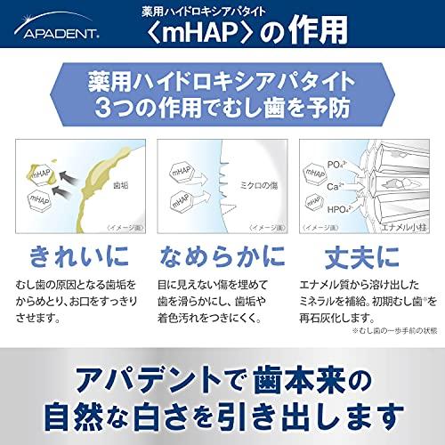 アパデントセンシティブ60g知覚過敏予防ハミガキ(医薬部外品)