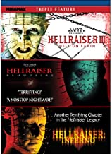 Hellraiser III: Hell on Earth / Hellraiser IV: Bloodline / Hellraiser V: Inferno