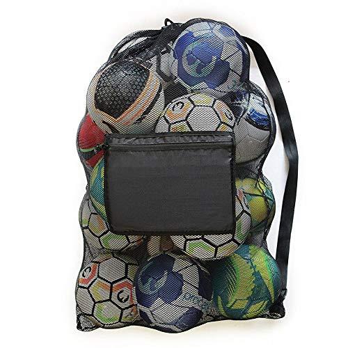 Borsa sportiva in rete per calcio, basket, attrezzatura da immersione, borsa di immagazzinamento, grande capacità, per sport all'aria aperta, impermeabile, 40 cm 30 cm