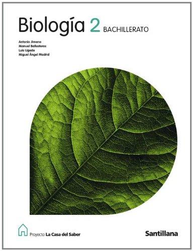 Proyecto La Casa del Saber, biología, 2 Bachillerato - 9788429409796
