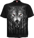 Spiral - Forest Wolf - T-Shirt Black - XXL