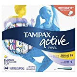 Second-best for Swimming: Tampax Pearl Active