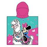 Poncho - Toalla Infantil con Capucha de niño y niña Licencia Oficial Disney...