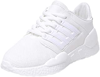 Women Shock Absorber Mesh Sneakers Heightening Trainer Breathable Sneakers Sports Running Shoes