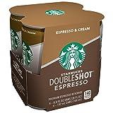 Starbucks Double Shot, Espresso, Coffee Drink 6.5 Fl Oz (Pack of 4)