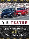 Die Tester: Opel Astra 1.4 CNG vs VW Golf 1.4 TGI