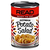 READ German Potato Salad | Hearty Sliced White Potatoes | Sweet-Tangy Piquant Deliciousness | Bacon | Sugar, Vinegar, Onion, Spice and Parsley dressing | Kosher | 15 ounce cans (pack of 12)