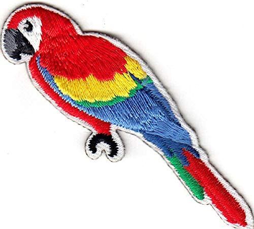 PARROT Iron Tulsa Mall On Tropical Patch Price reduction Birds