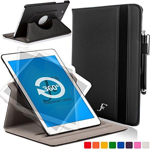 Forefront Cases Cover per Samsung Galaxy Tab E 9.6 T560 (2015) Rotazione Cover Custodia Caso - Ultra Robusto e Protezione Dispositivo Completa - Nero