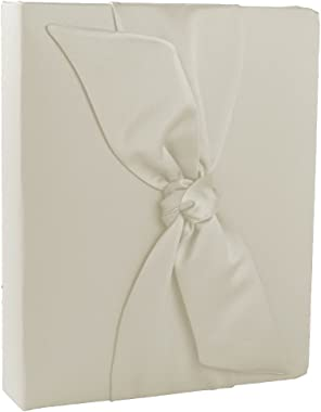 Ivy Lane Design Love Knot Wedding Memory Book, Ivory
